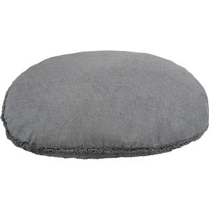 Urban Loft by Westex Oval Donut Dog Bed - 27-in x 22-in x 7-in - Charcoal