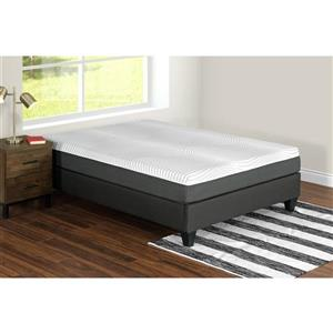 Collection Bourbon Street Nara 10-in AcquaPuro Memory Foam Mattress - Twin