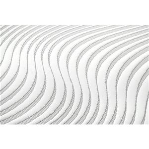 Collection Bourbon Street Nara 10-in AcquaPuro Memory Foam Mattress - Double
