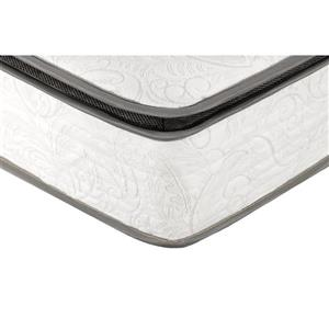 Collection Bourbon Street Berri 10-in Pocket Coil Mattress with Lumbar Gel - King