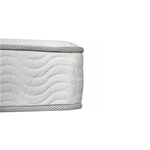 Collection Bourbon Street Rhapsody 8-in Pocket Coil Foam Mattress - Twin