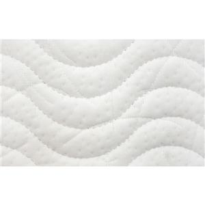 Collection Bourbon Street Rhapsody 8-in Pocket Coil Foam Mattress - Double