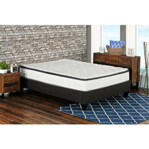 Collection Bourbon Street Berri 10-in Pocket Coil Mattress with Lumbar Gel - Double