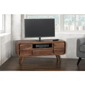 Collection Bourbon Street Shontelle Indian Rosewood Media Console Table - 51""