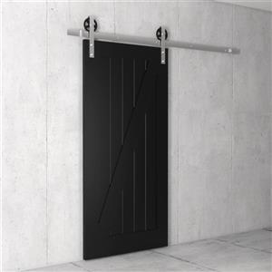 Urban Woodcraft California Z-Frame Barn Door with Hardware ...