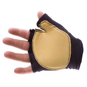 Impacto Finger Less Anti-Impact Glove - Nylon/leather palm -Medium