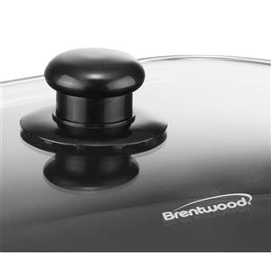 """Brentwood Electric Skillet with Glass Lid - 16"""""""