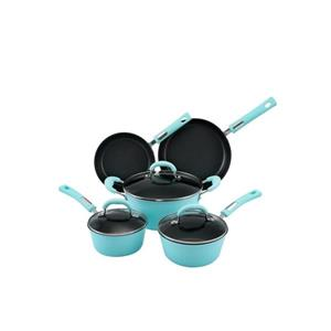 Hamilton Beach Blue Cookware Set - 8-Piece