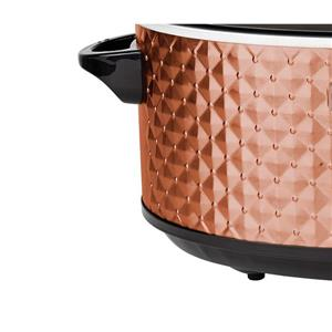 Brentwood Select 7QT Slow Cooker - Copper