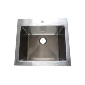 Elegant Stainless Laundry Sink - 25-in - Stainless Steel