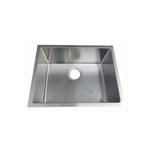 Elegant Stainless Laundry Sink - 23-in - Stainless Steel
