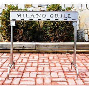 Milano Grill Charcoal Grill - Stainless Steel