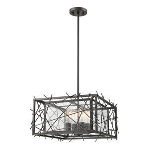 Z-Lite Stanwood 4-Light Pendant - 18-in  - Bronze