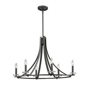 Z-Lite Verona 6-Light Pendant - 18.5-in - Bronze