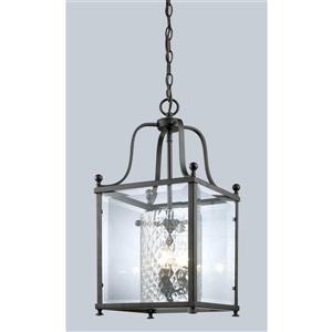 Z-Lite Fairview 3-Light Pendant - 11-in - Bronze