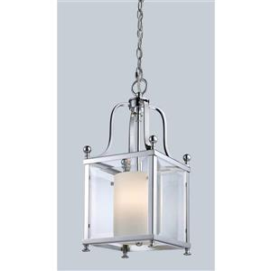 Z-Lite Fairview 3-Light Pendant - 8.25-in - Chrome