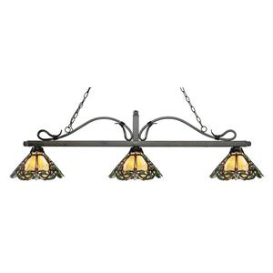 Z-Lite Melrose 3-light Kitchen Island Light - Bronze