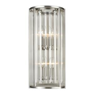Z-Lite Monarch 4 Light Wall Sconce - Brushed Nickel