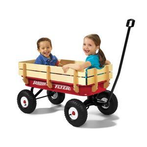 Radio Flyer Wood All-Terrain Wagon - Red