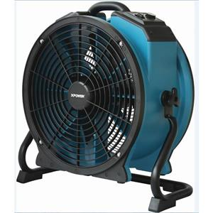XPOWER Axial Profesional Fan with Rack