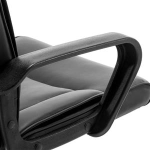 FurnitureR Traditional Style Office Chair - Black