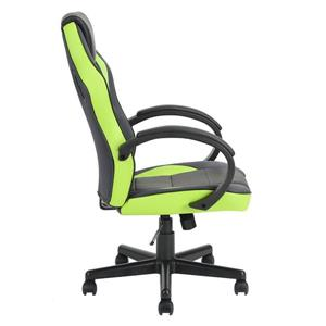 FurnitureR Ergonomic Racing Game Office Chair - Green