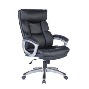 FurnitureR Traditional Boss Task Office Chair - Black