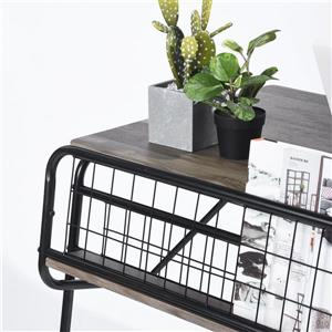 FurnitureR Munster Computer Desk Beech - 41.3-in  x 25.6-in