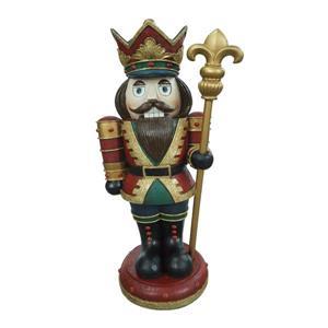 "Hi-Line Gift Nutcracker Figurine - Wood - 30.5"""