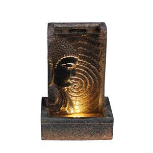 Hi-Line Gift Buddha Wall Fountain - LED Light