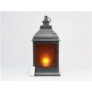"Hi-Line Gift Outdoor Lantern - LED Light - Gold - 20"""