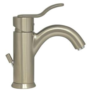 Whitehaus Collection Galleryhaus Single Hole Bath Faucet - Brushed Nickel