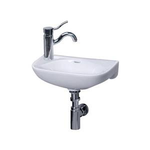 Whitehaus Collection Wall Mount Bathroom Sink - Porcelain - 17-in - White
