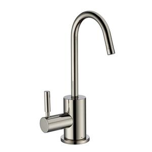 Whitehaus Collection Modern Hot Water Faucet - 1 Handle - Polished Nickel