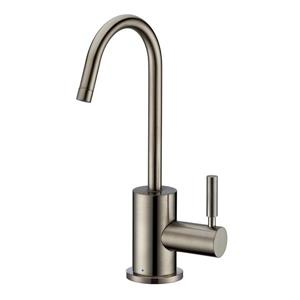 Whitehaus Collection Modern Cold Water Faucet - 1-Handle - Brushed Nickel