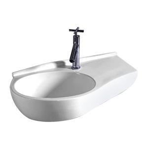 Whitehaus Collection Wall Mount Bathroom Sink - 24-in - White