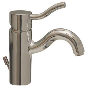 Whitehaus Collection Single Hole Faucet with Pop-up Drain - Chrome