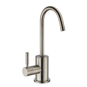 Whitehaus Collection Modern Hot Water Faucet - 1 Handle - Brushed Nickel