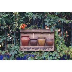 Hi-Line Gift Pouring Jugs Outdoor Fountain - Multicoloured