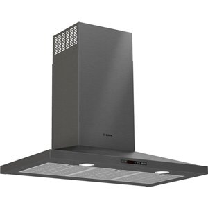 Bosch 36-in 600 CFM Wall-Mounted Range Hood (Black Stainless Steel)
