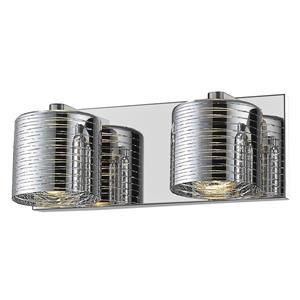Z-Lite Sempter 2-Light Vanity Light - Chrome