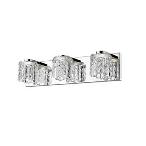 Z-Lite Tempest 3-Light Vanity Light - Chrome