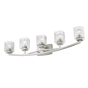 Z-Lite Zaid 5-Light Vanity Light - Nickel