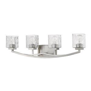 Z-Lite Zaid 4-Light Vanity Light - Nickel