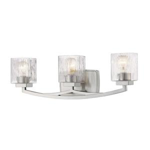 Z-Lite Zaid 3-Light Vanity Light - Nickel