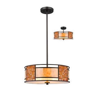 Z-Lite Parkwood 3-Light Pendant Light - Bronze