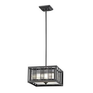 Z-Lite Meridional 3-Light Pendant Light - Bronze