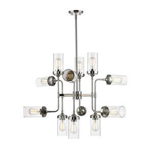 Z-Lite Calliope 12-Light Pendant Light - Nickel