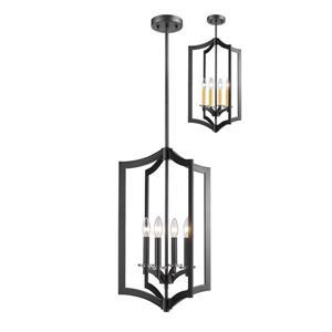 Z-Lite Zander 4-Light Pendant Light - Bronze