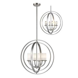 Z-Lite Ashling 6-Light Pendant Light - Nickel